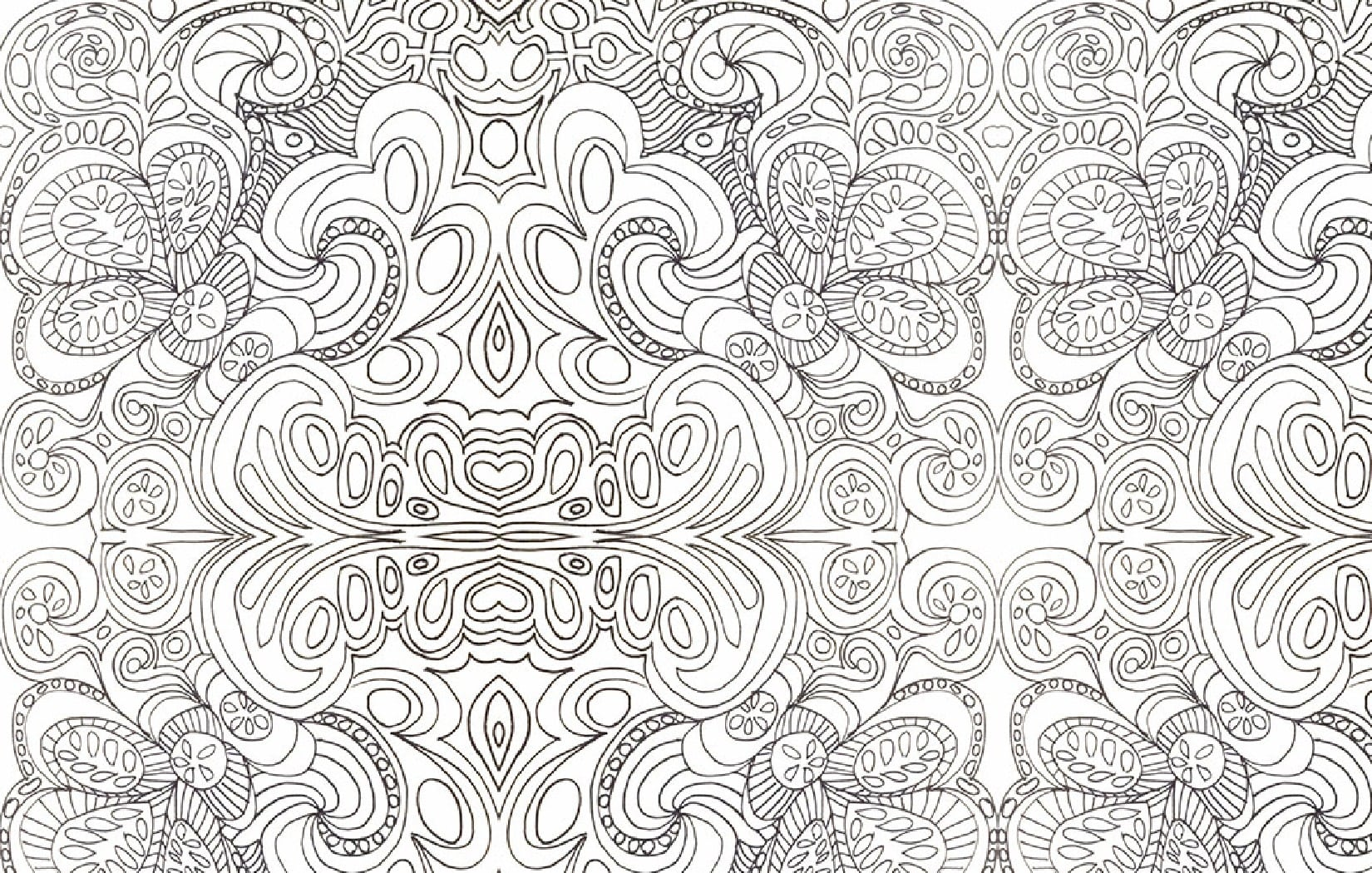 Psychedelic Coloring Pages To Download And Print For Free