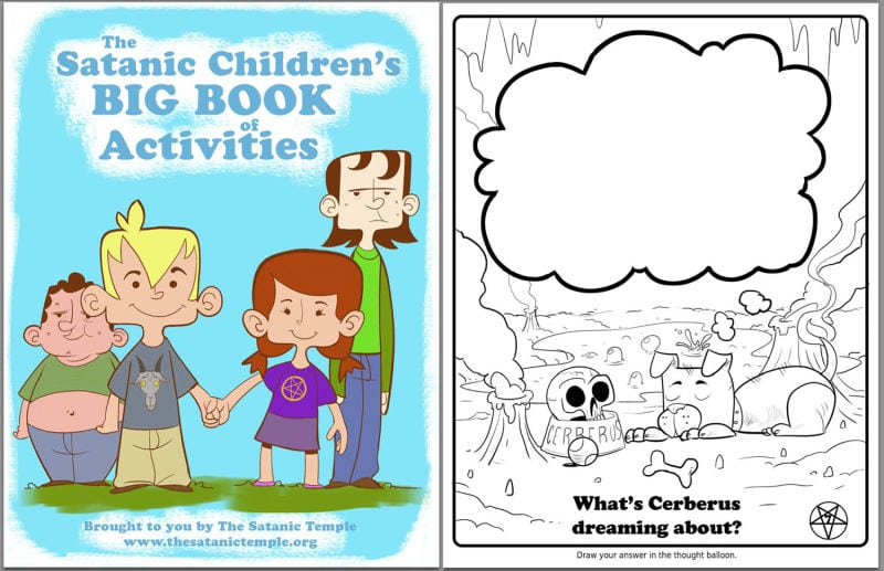 Vvoa Ideal Satanic Coloring Book