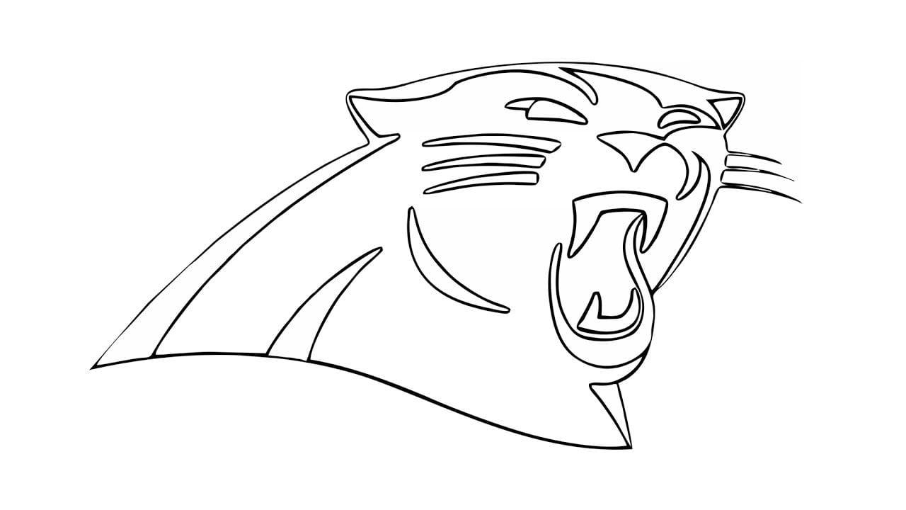 Enjoyable Inspiration Ideas Carolina Panthers Coloring Pages