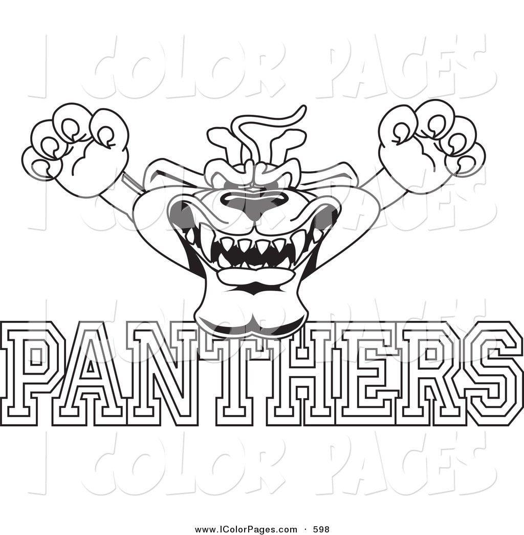 Carolina Panthers Coloring Pages