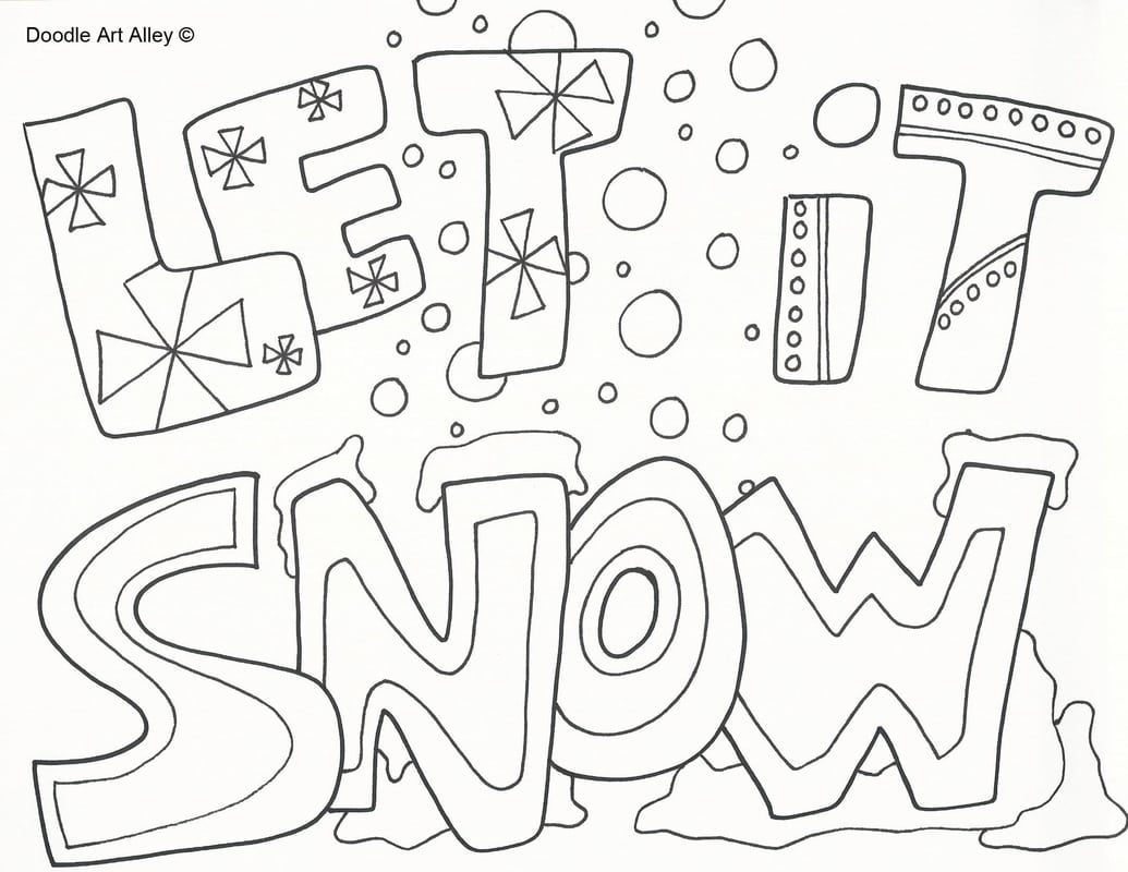 Snow Coloring Pages Best Adresebitkisel Com At Winter Color