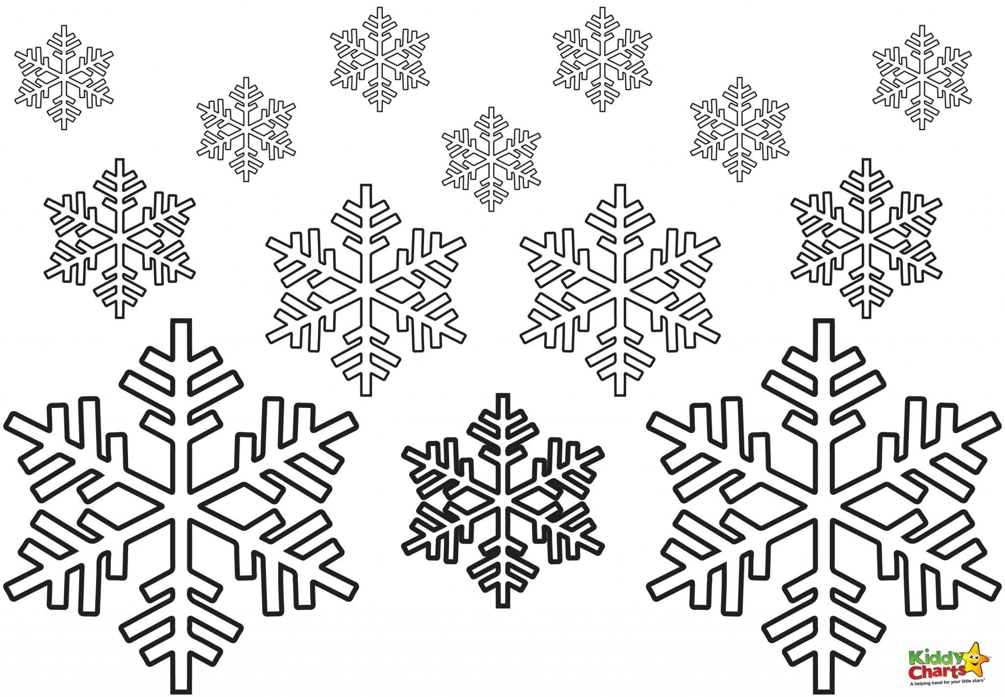 Printable Snowflake Coloring Pages For Kids Cool2bkids Color Print ...
