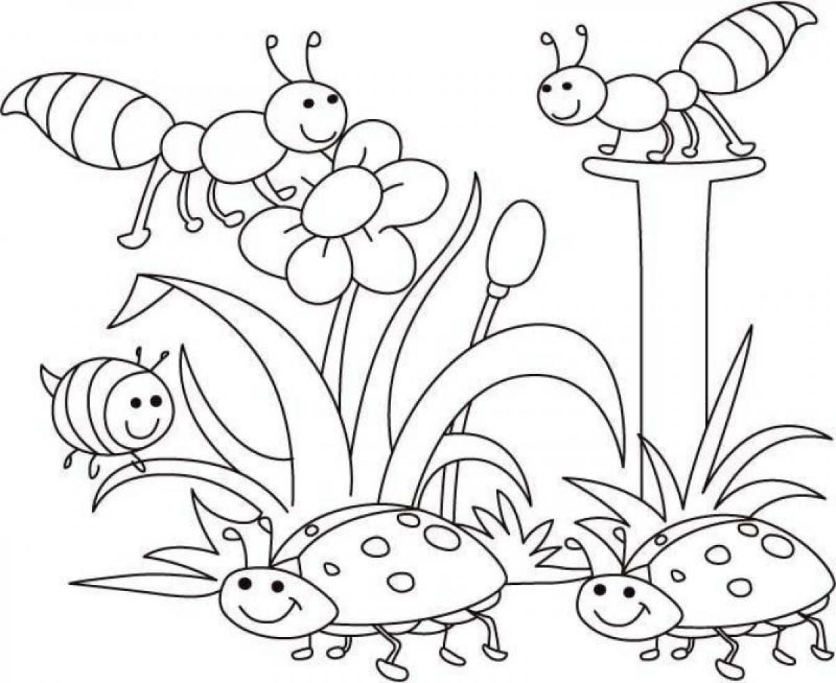 Spring Coloring Pages Color Periods Free For Printable
