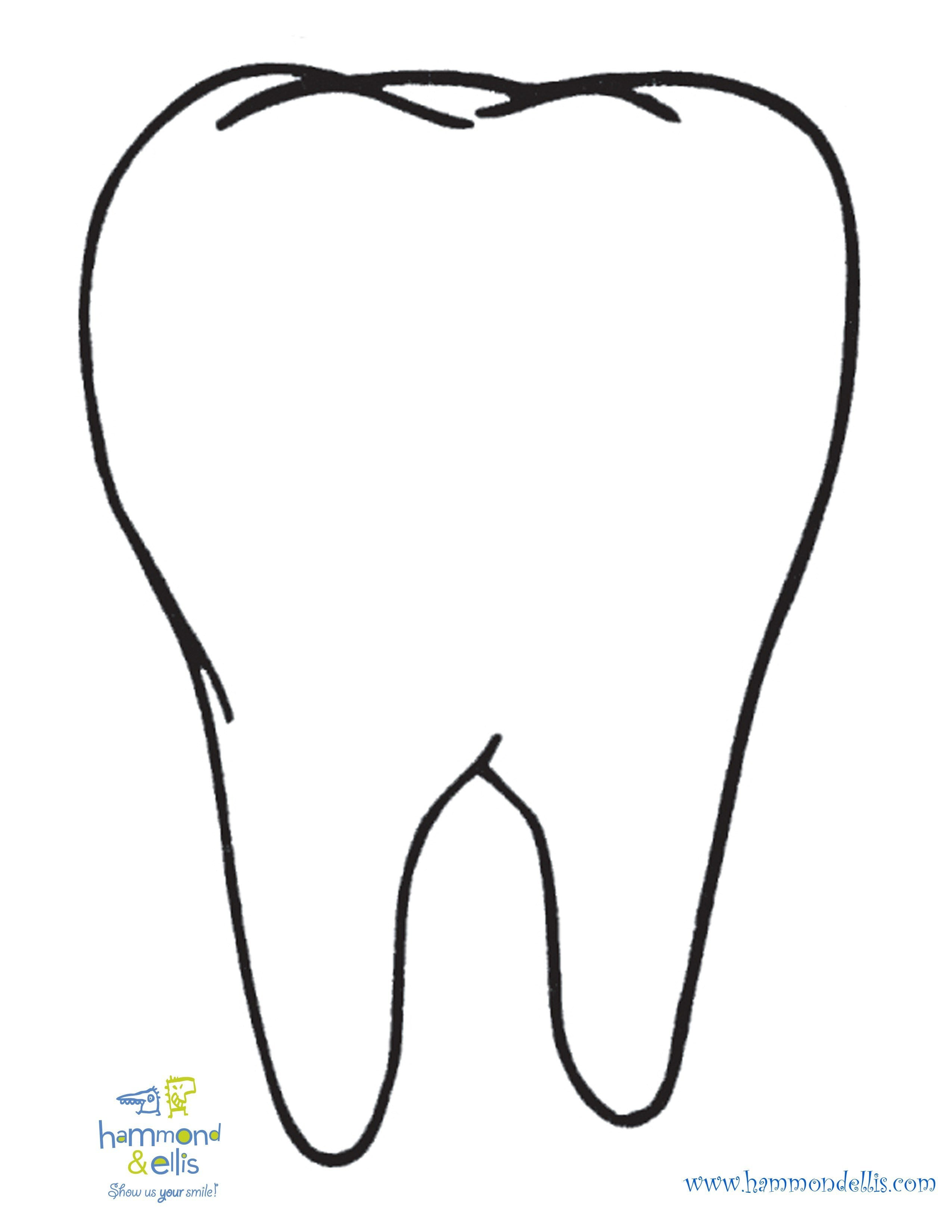 Tooth Coloring Pages Freecolorngpages Co Throughout Qqa Me In