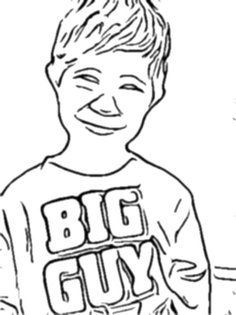 Turn Picture Into Coloring Page Pictures Pages At Photos In Your