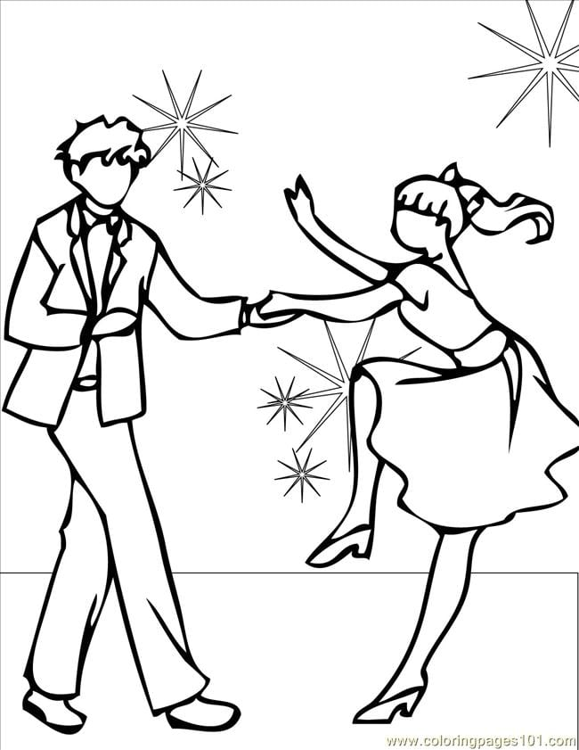 Pretentious Inspiration Dance Coloring Pages Page 2