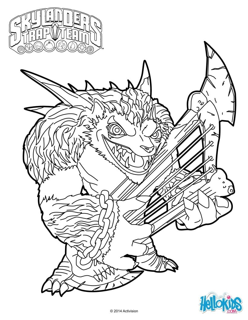 flameslinger coloring pages - photo#18