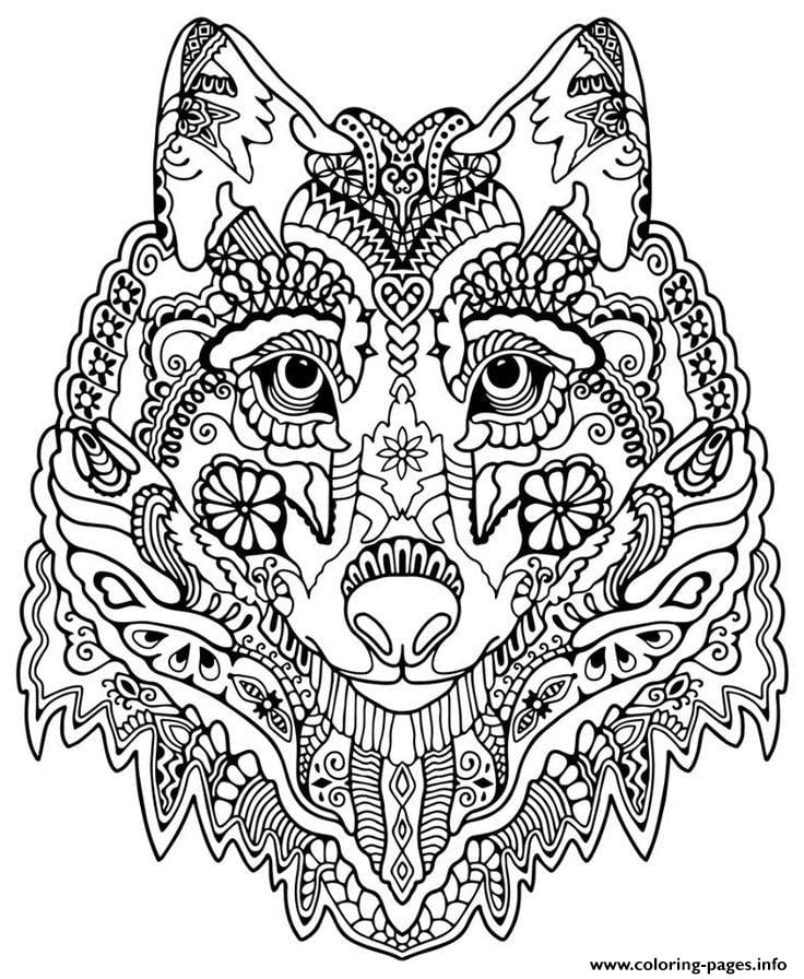 Wolf Coloring Pages Anime Online Coloring Pages Wolf Coloring