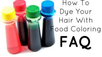 Can You Dye Your Hair With Food Coloring