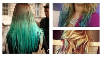 How To Dye Your Hair With Food Coloring