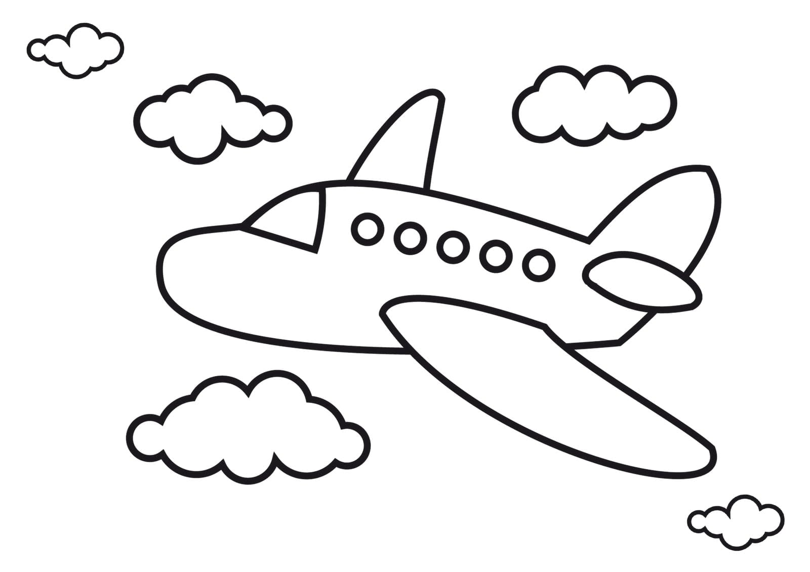 Airplane Coloring Pages Airplanes Pictures For Kids – Viewing