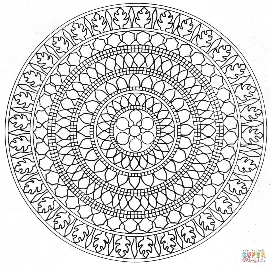 29 Printable Mandala & Abstract Colouring Pages For Meditation