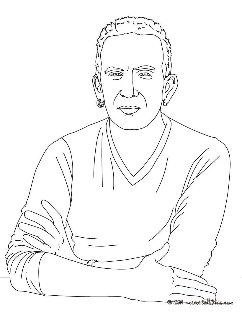 Jean Paul Gaultier French Designer Coloring Pages