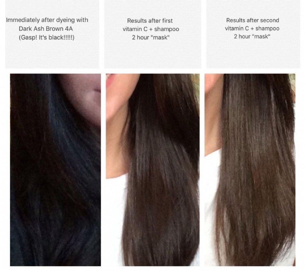 Vitamin C Hair Color Remover Reviews, Photos
