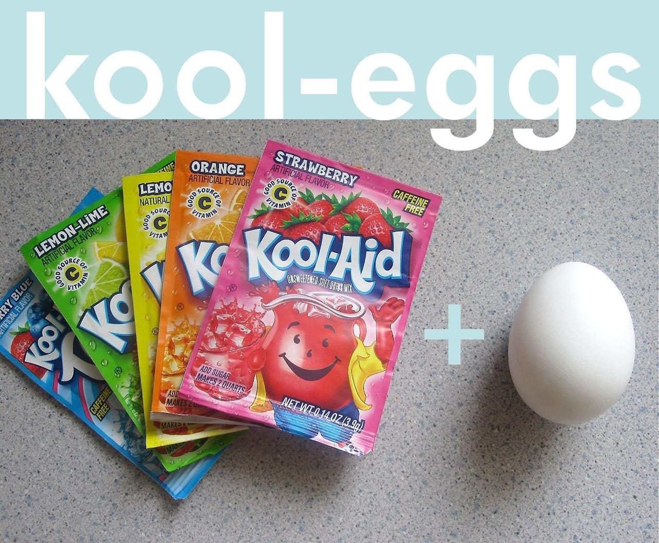 Dying Easter Eggs With Kool