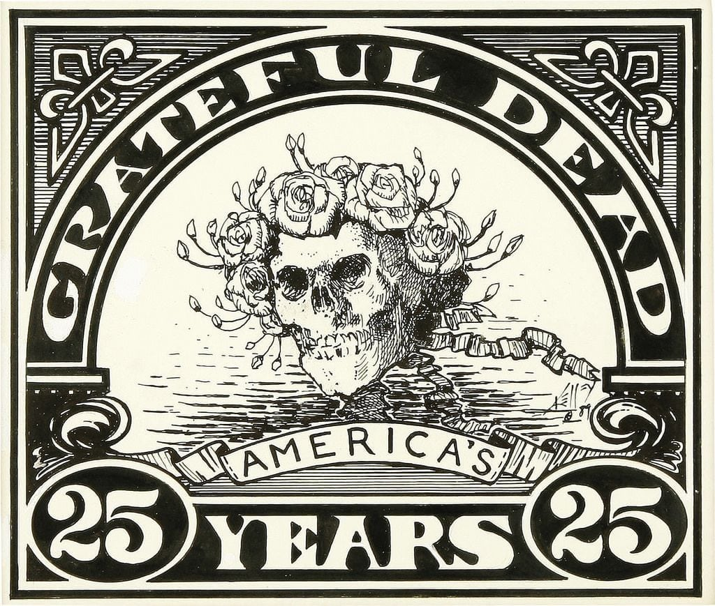 Grateful Dead Coloring Book Free Shipping Kimberly Garvey S