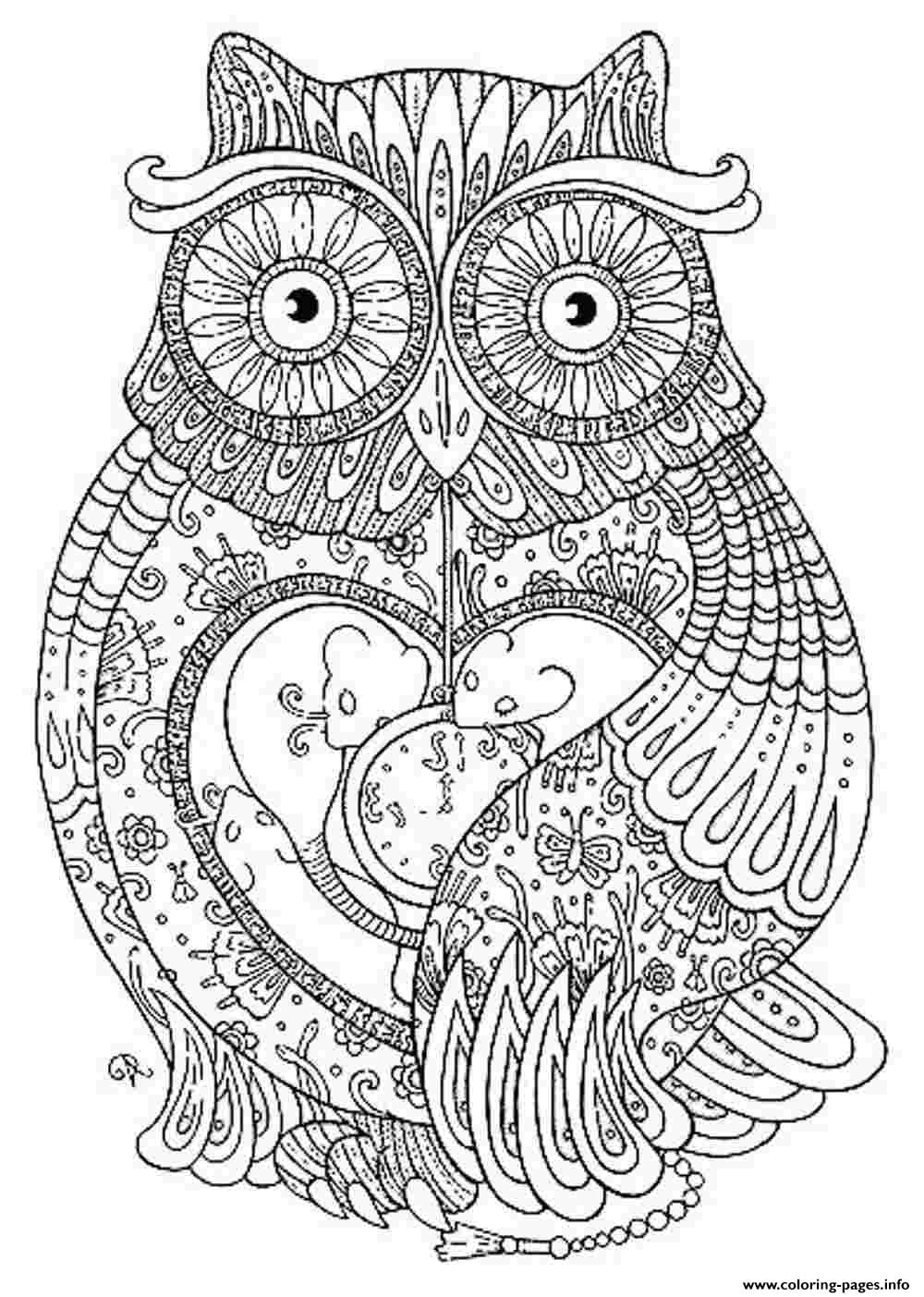 Print Animal Coloring Pages For Adults Coloring Pages