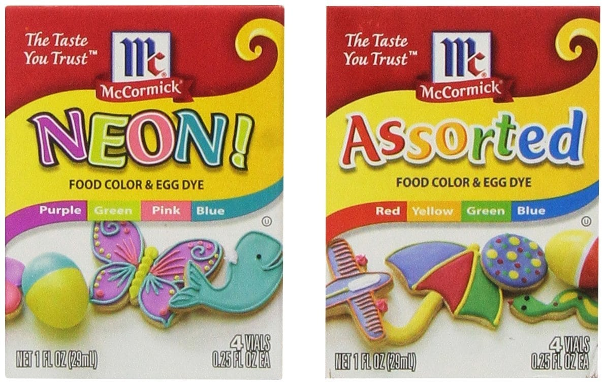 Amazon Com   Food Color And Egg Dye Pack With (1) Neon Purple
