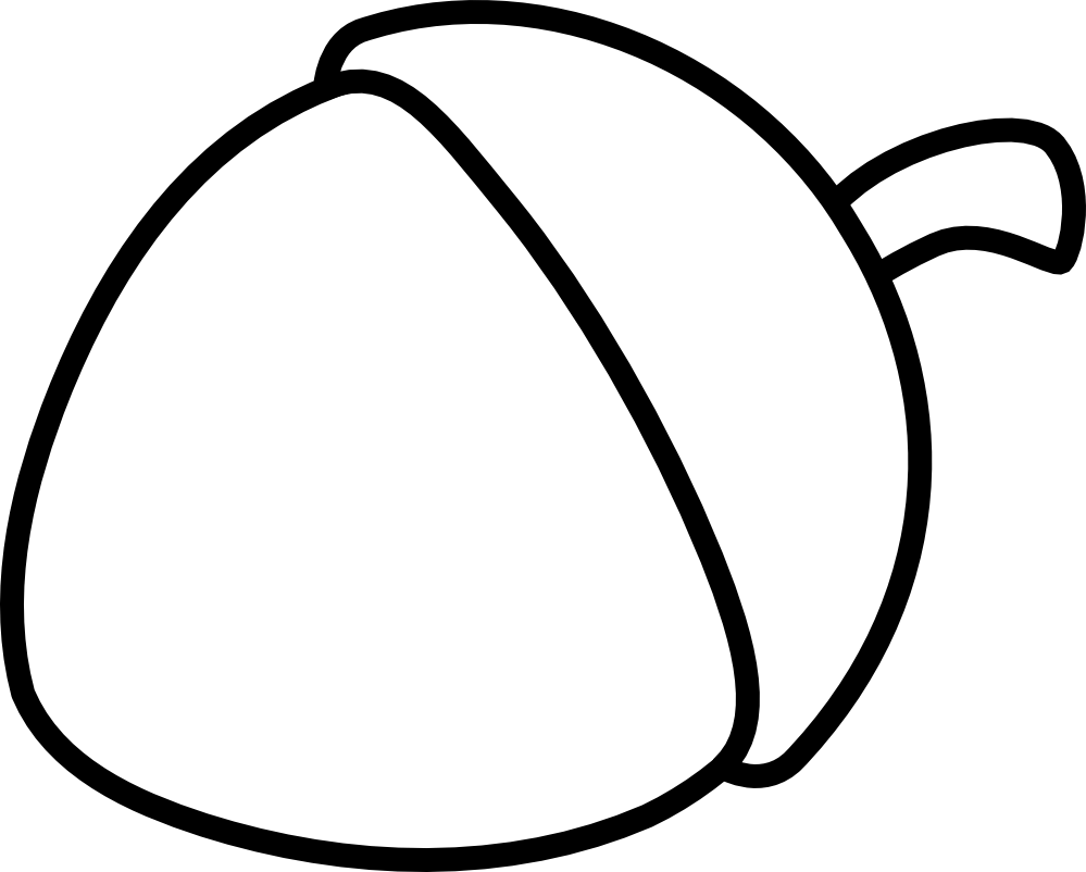 Acorn Coloring Pages Sheet 5962 For