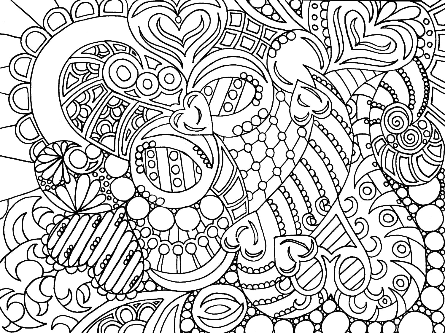 Adult Coloring Pages Online Printable Mandala Free 4862 Unknown
