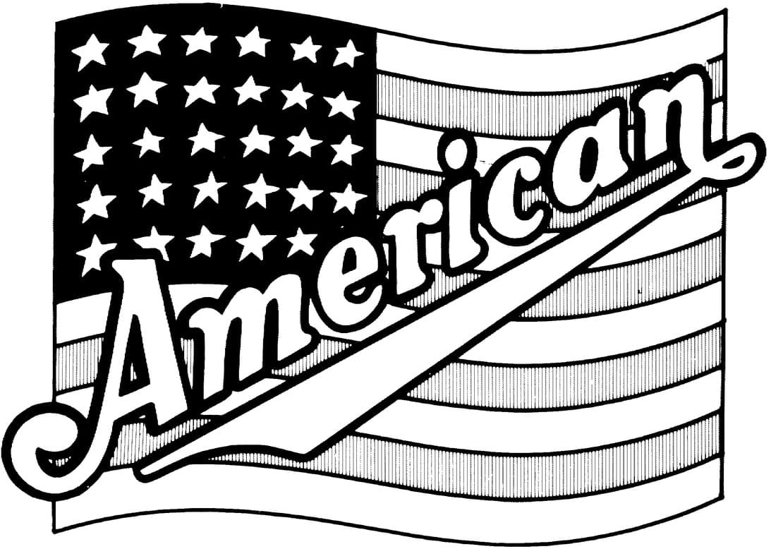 American Coloring Page & Coloring Book