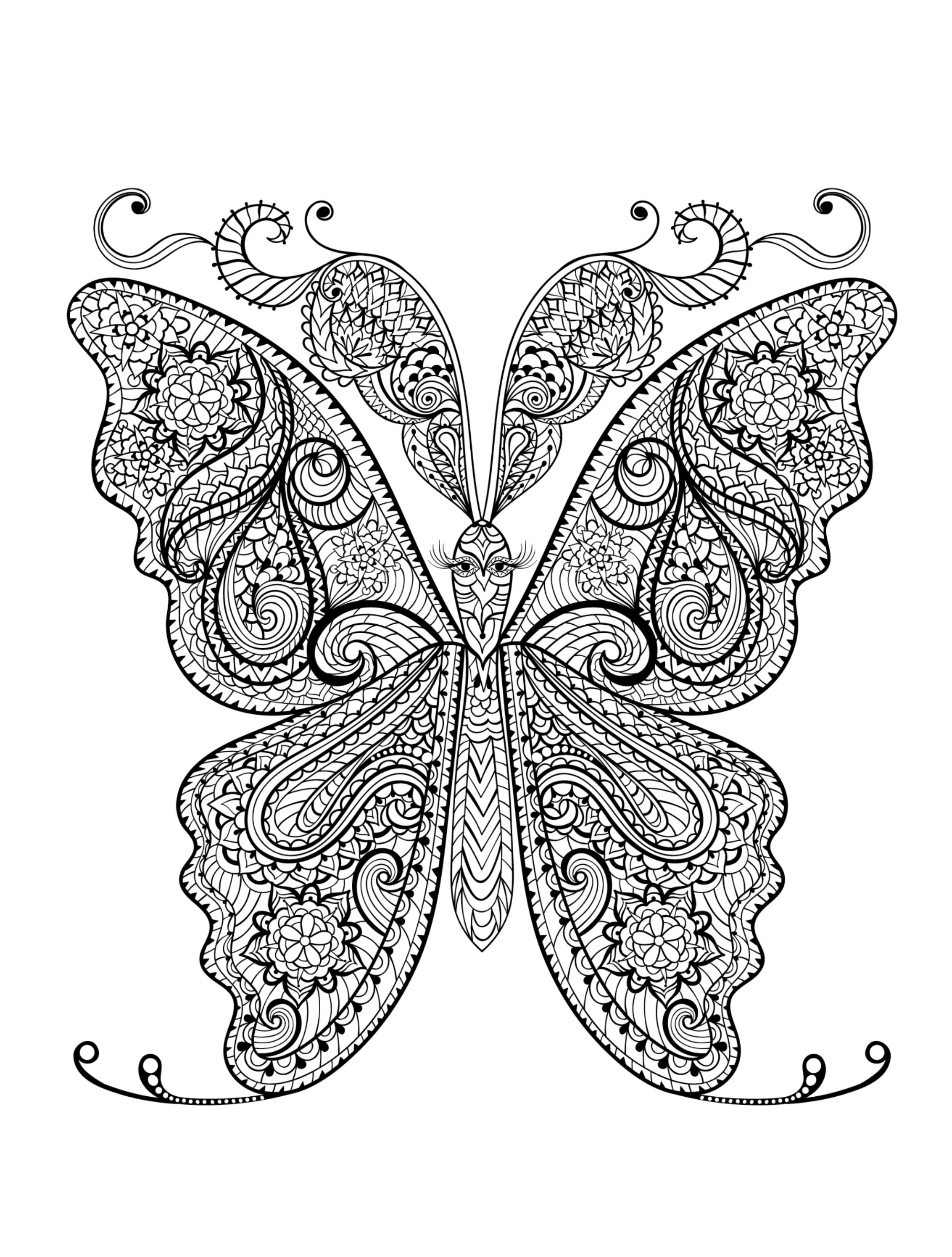 Animal Coloring Pages For Adults 79 With Animal Coloring Pages For