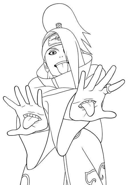 Naruto Coloring Pages Fabulous Naruto Coloring Book