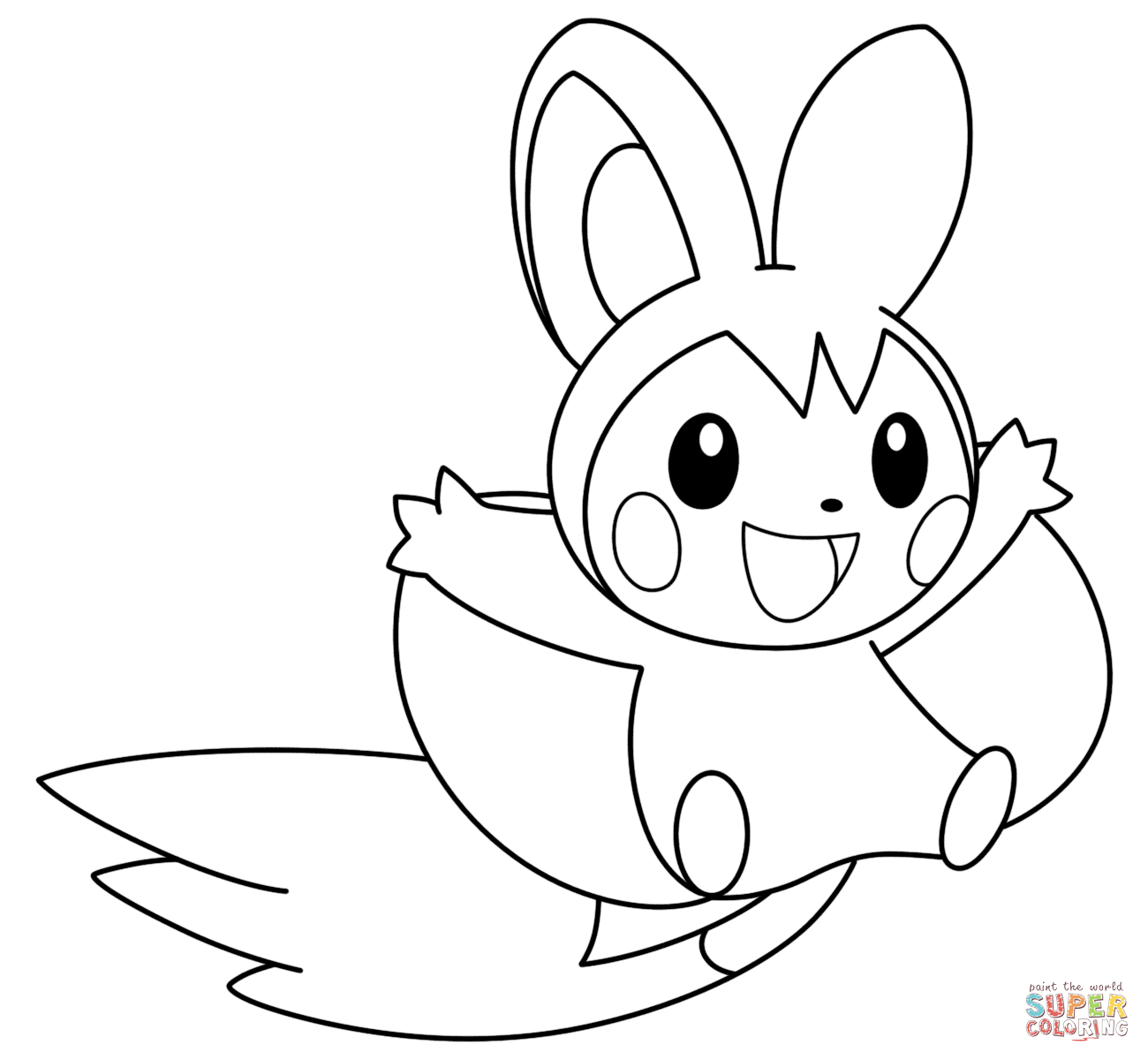 Appalling Coloring Pages Pokemon Printable In Sweet Pokemon