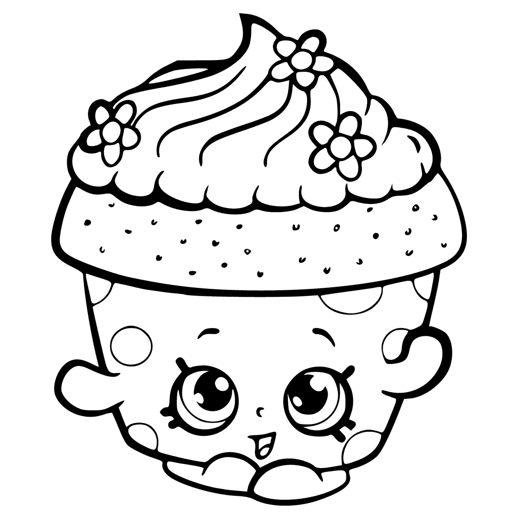 Approved Cupcake Coloring Pages To Print Lovely Ribsvigyapan Com