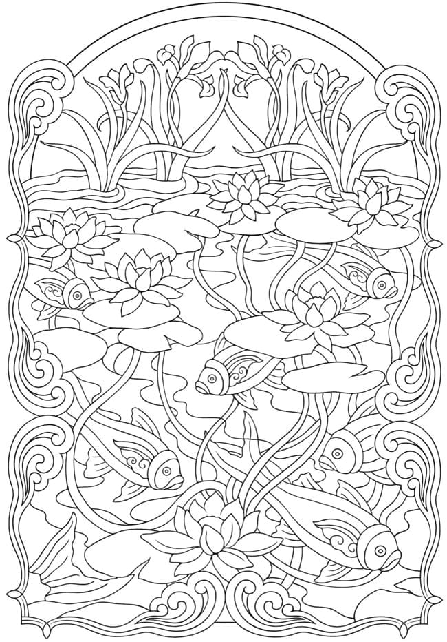 Art Deco Coloring Pages Art Nouveau Coloring Pages1