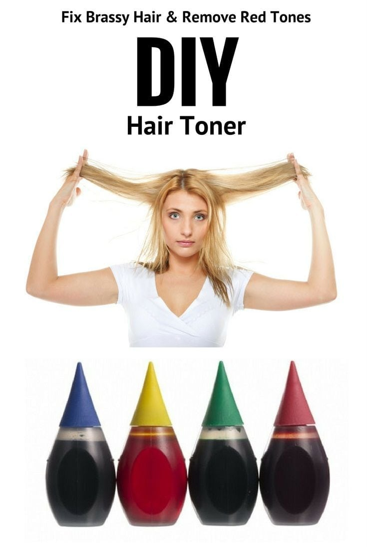 Diy Hair Toner  Fix Brassy Hair With Food Coloring & Remove