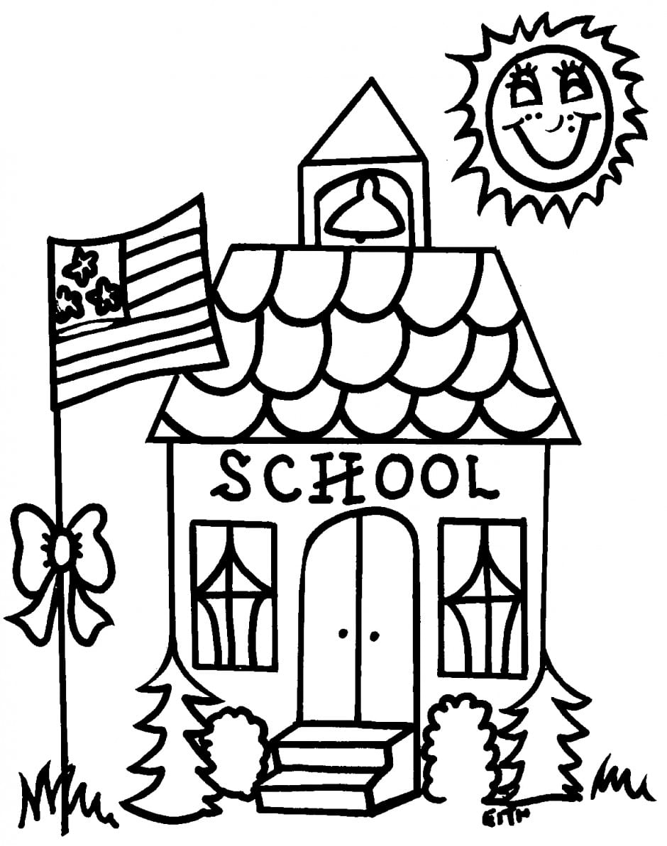 Back To School Coloring Pages School Coloring Pages