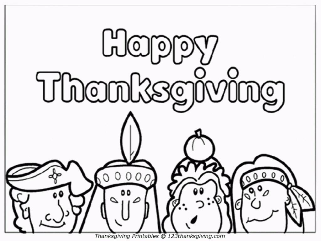 16 Free Thanksgiving Coloring Pages For Kids& Toddlers! ⋆ Simply