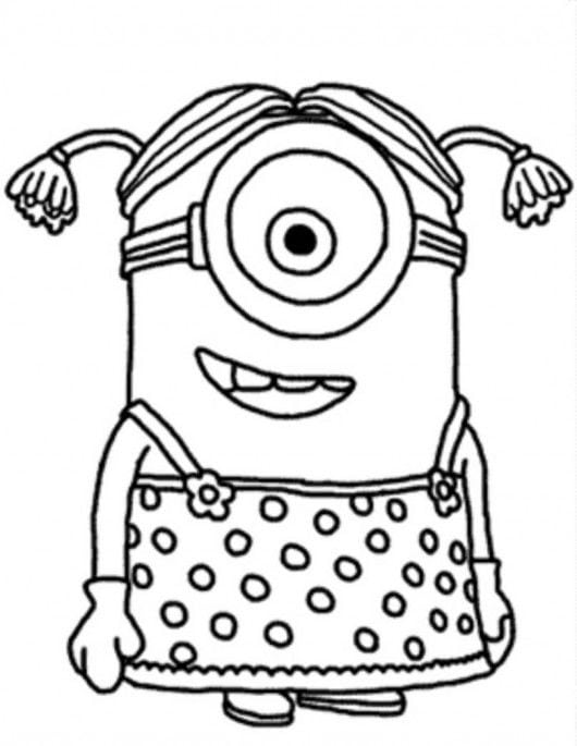 Best Minion Coloring Pages To Print