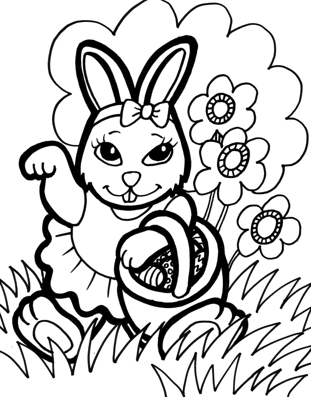 Bunny Coloring Pages Best Coloring Pages For Kids Bunny Coloring