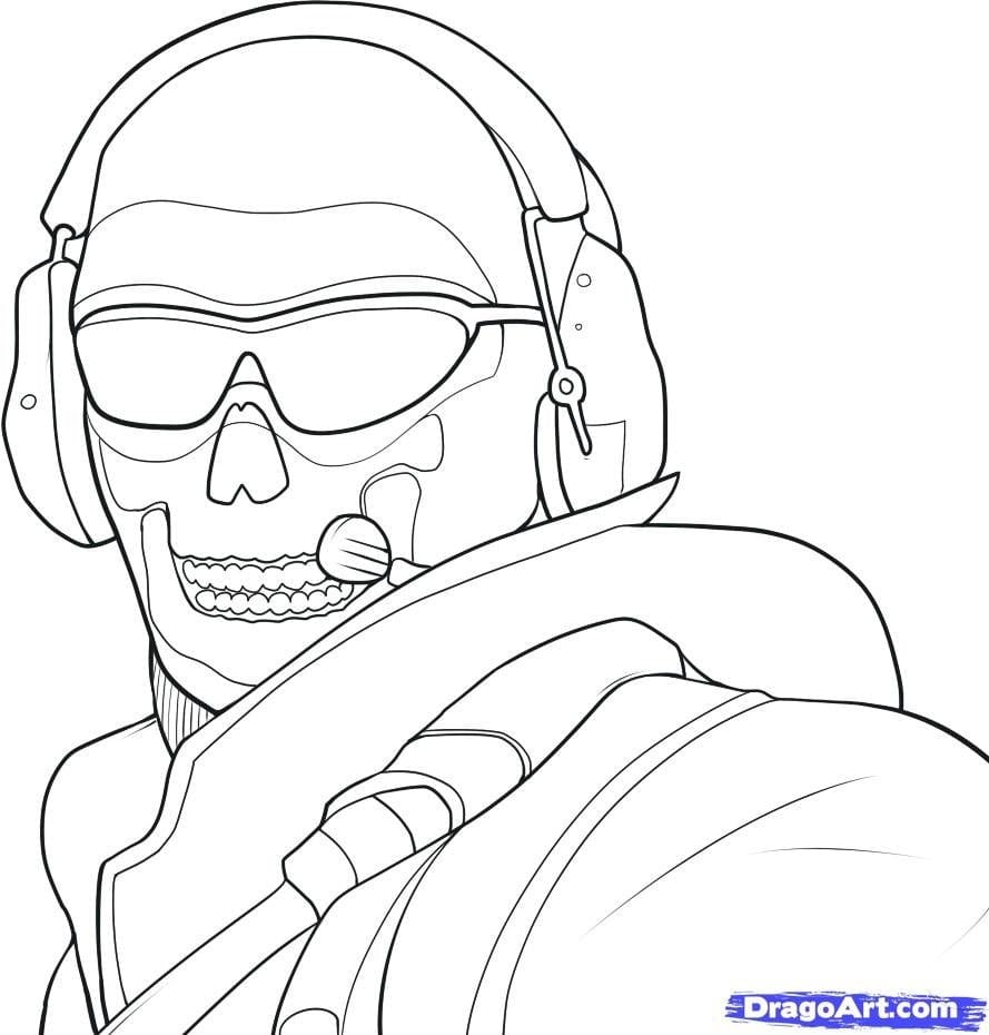 Awesome Black Ops Coloring Pages