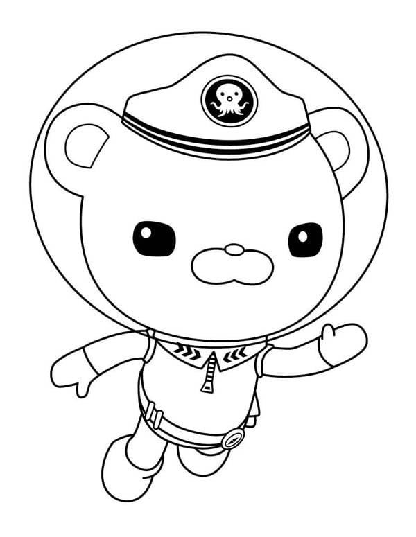 The Octonauts Meet Epic Octonauts Coloring Pages