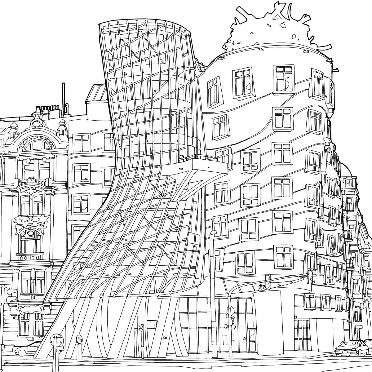 Stunning New Coloring Book Shines A Light On Global Architecture
