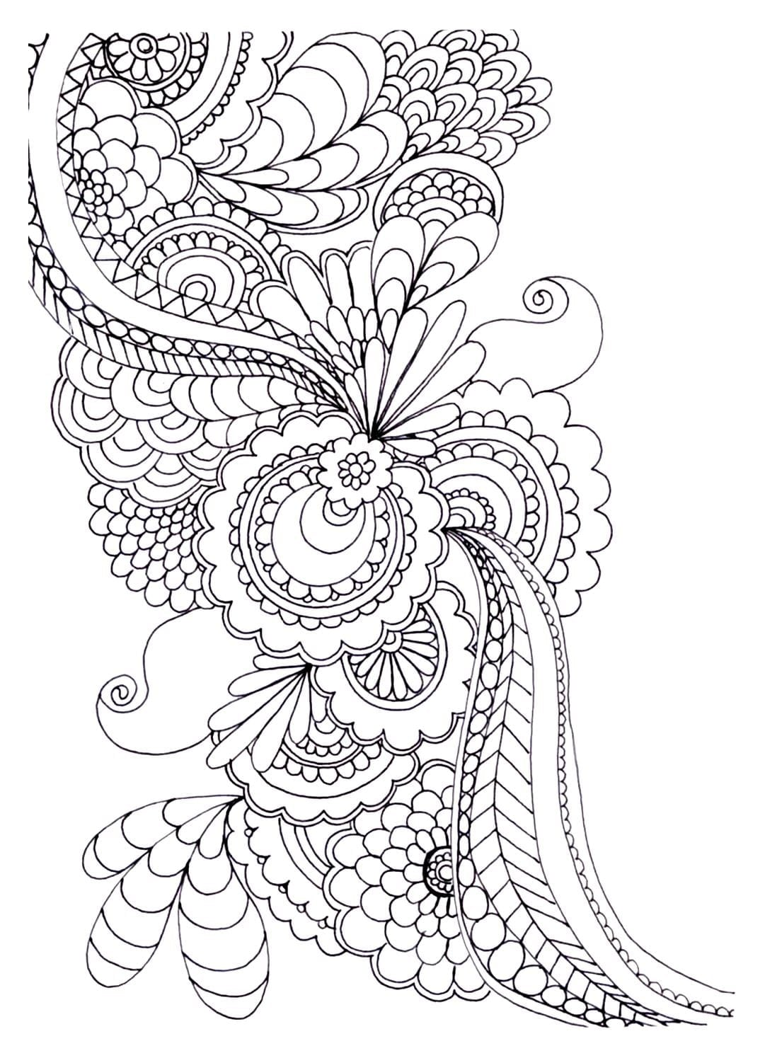 Challenge Free Pictures To Color For Adults Print This Coloring
