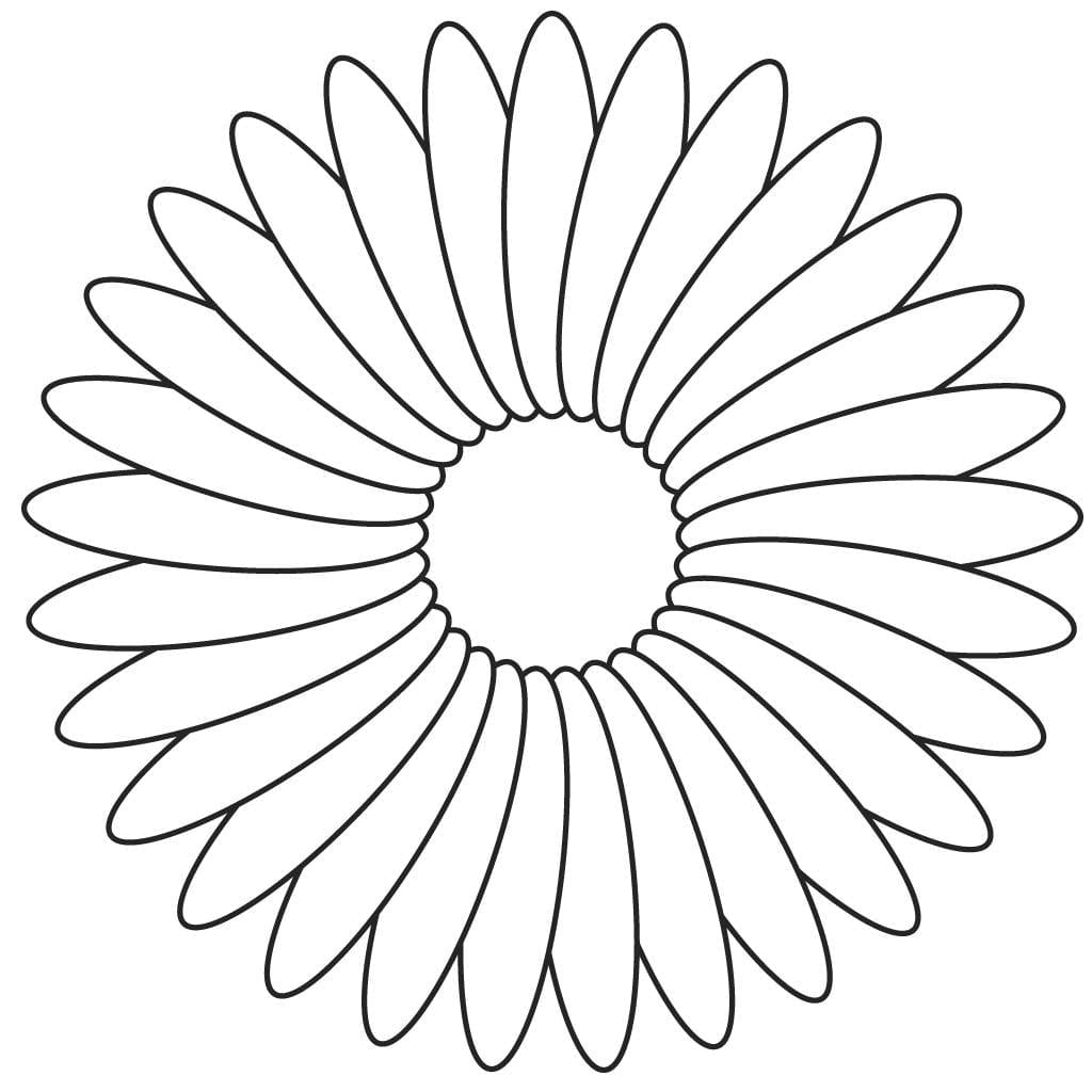 Chic Inspiration Printable Flower Coloring Pages Lovely Decoration