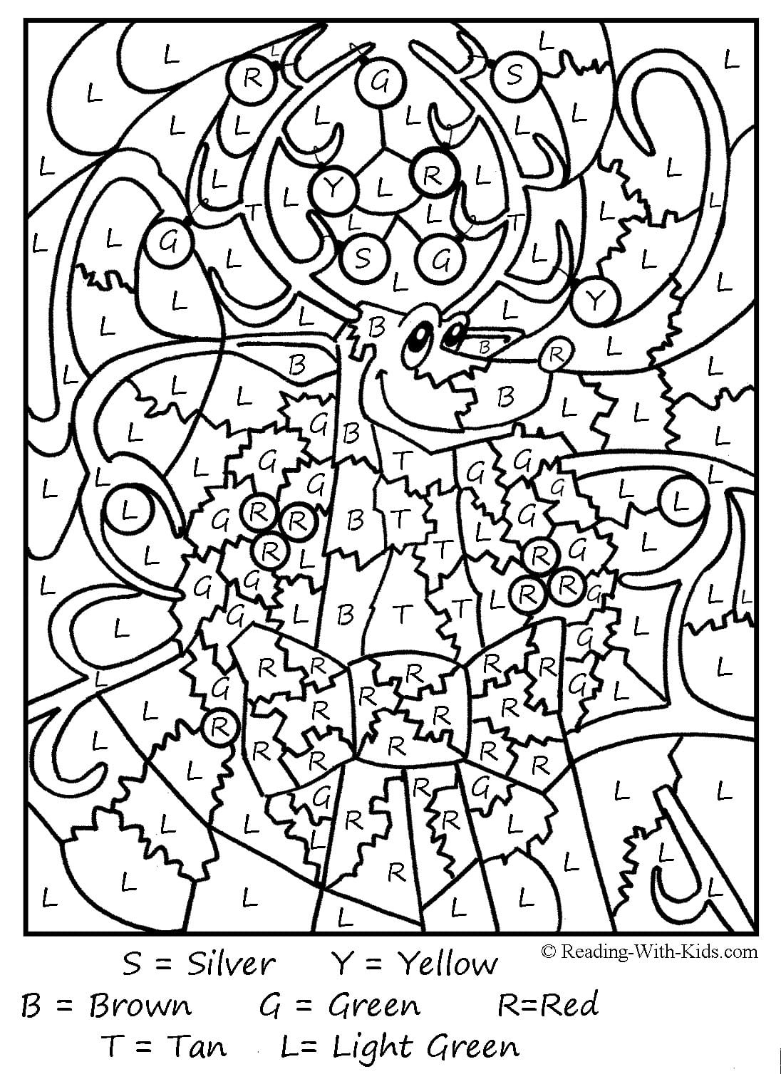Christmas Coloring Pages To Print Free Printable 1080 960 High