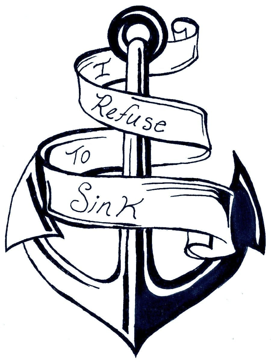 Colorful Coloring Pages Of Anchors Smartness I  6188
