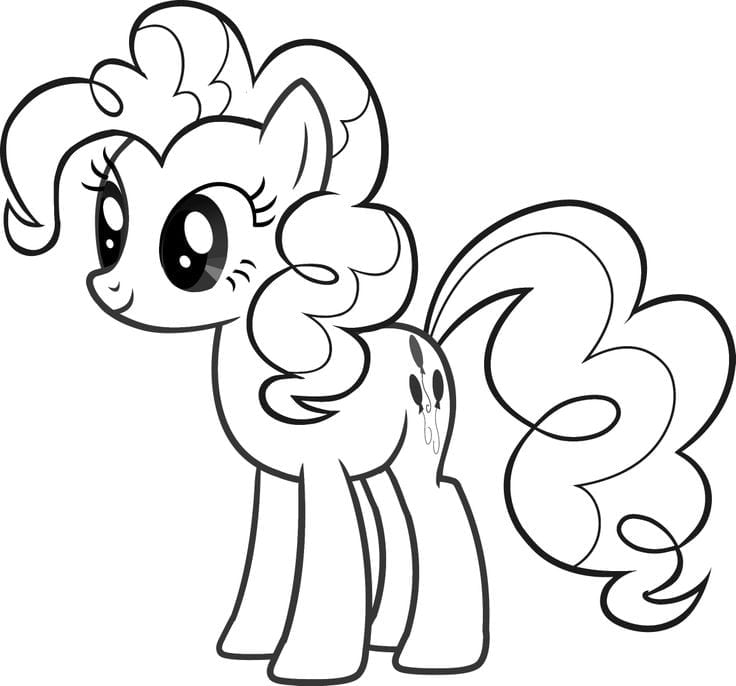 Coloring Pages Of Pinkie Pie – Color Bros