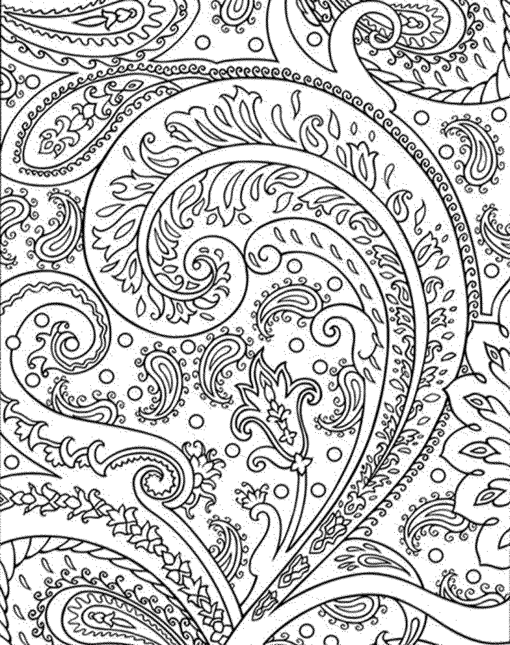 Coloring Page For Adults Book Free Pages Printable Hard To Color