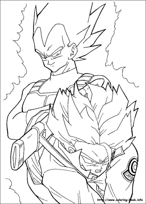 Coloring Page Php Popular Dragon Ball Z Coloring Books
