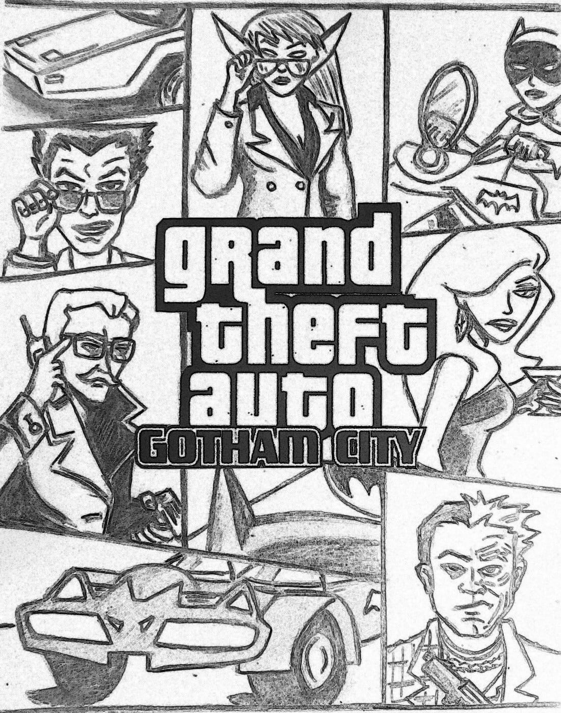 Coloring Pages Breathtaking Gta 5 Colouring At Beauteous