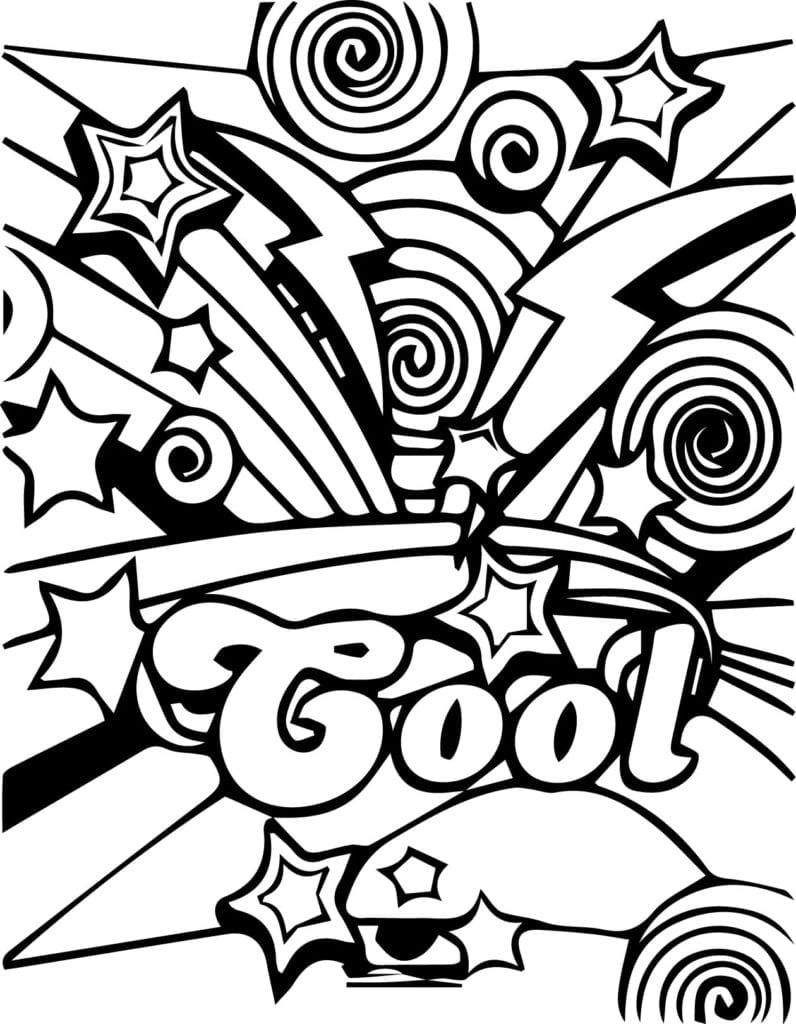 Awesome Coloring Pages