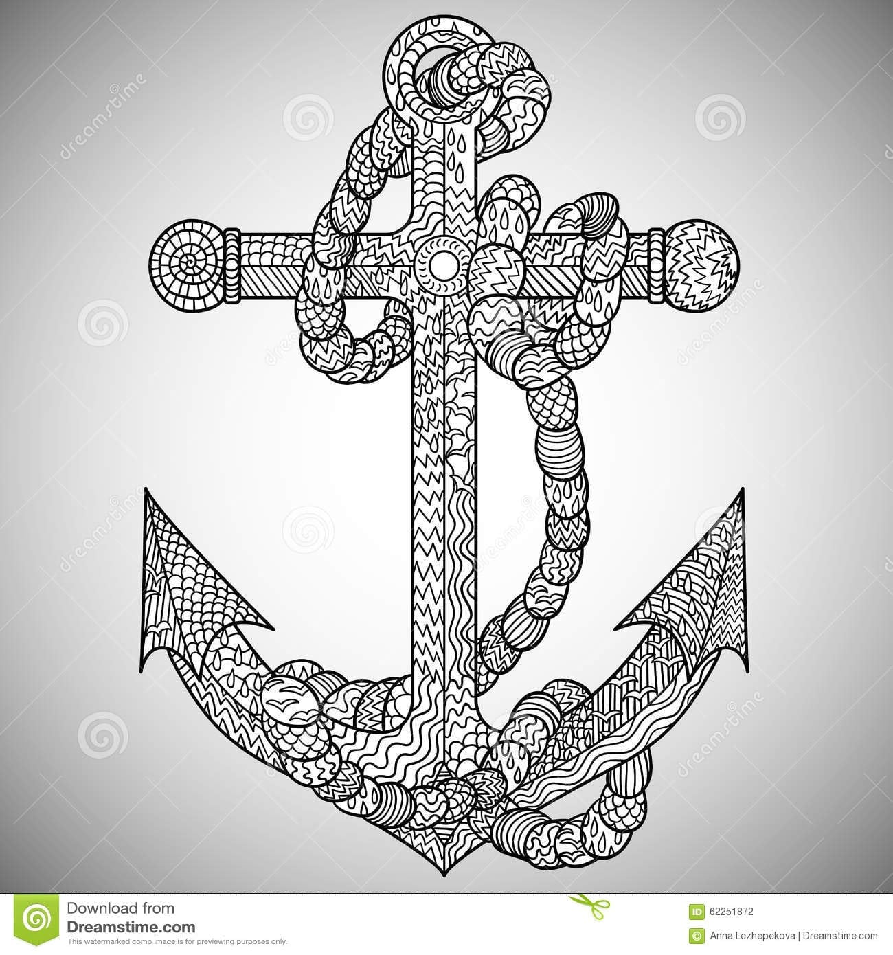 Coloring Pages Of Anchors Paginone Biz For Anchor Page