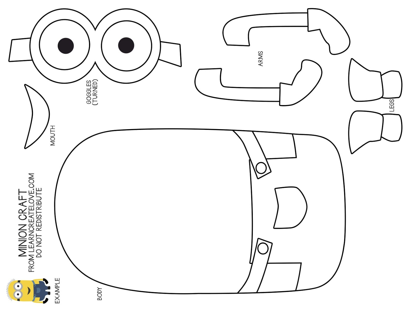 With Minion Coloring Pages Pdf