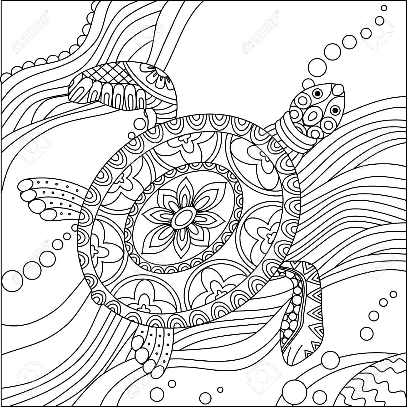 Ask A Biologist Coloring Page